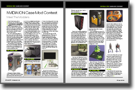 NVIDIA ION Mod Contest in CPU Magazine