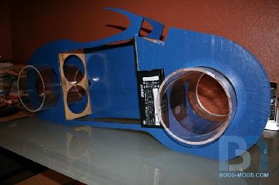 TRON Light Cycle Case Mod Boddaker, bods-mods, Case Mod, TRON Light Cycle 1