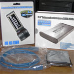 500GB SuperSpeed USB 3.0 2.5in External Hard Drive Geek Kit 500GB, External Hard Drive, USB 3.0 2.5in 1