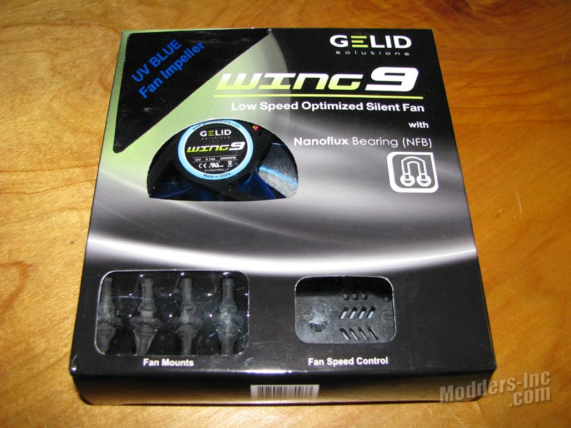 GELID Wing9-Wing12 UV Blue Case Fans Blue, Case Fan, GELID, UV, Wing9-Wing12 3