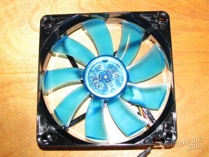 GELID Wing9-Wing12 UV Blue Case Fans Blue, Case Fan, GELID, UV, Wing9-Wing12 6