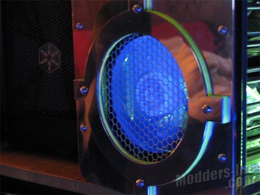 GELID Wing9-Wing12 UV Blue Case Fans Blue, Case Fan, GELID, UV, Wing9-Wing12 4