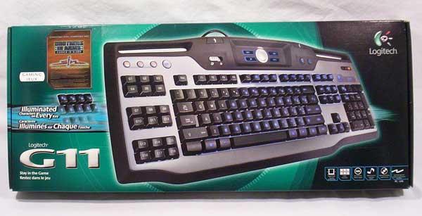 Logitech G11 Gaming Keyboard G11, Gaming, Keyboard, Logitech 2