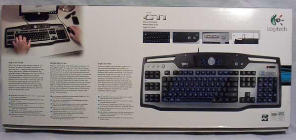 Logitech G11 Gaming Keyboard G11, Gaming, Keyboard, Logitech 3