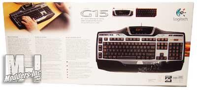 Logitech G15 Gaming Keyboard V2 G15, Gaming Keyboard, Logitech 3