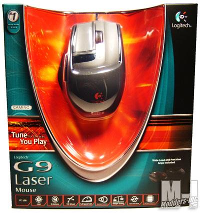 Logitech G9 Laser Mouse Gaming Mouse, Logitech 1