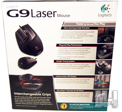 Logitech G9 Laser Mouse Gaming Mouse, Logitech 2