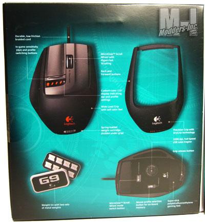 Logitech G9 Laser Mouse Gaming Mouse, Logitech 6