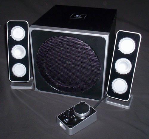 Logitech Z4 2.1 Speakers 2.1, Logitech, Speakers, Z4 1