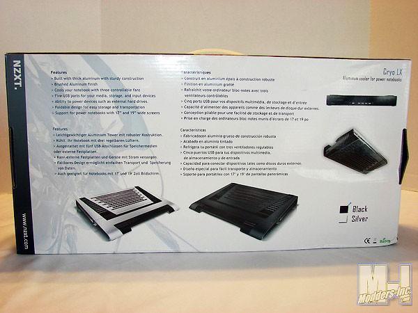 NZXT Cryo LX Notebook Cooler Laptop Cooler, NZXT 2