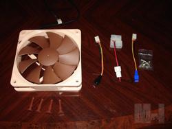 Noctua NF-P12 Fan Fan, NF-P12, Noctua 4