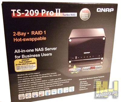 QNAP TS-209 Pro II NAS NAS, QNAP 1