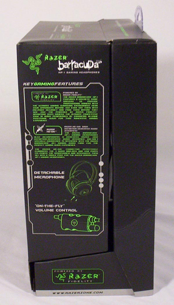 Modders-Inc Case Mods / Hardware Reviews - Razer Barracuda HP-1 Headphones Side 1