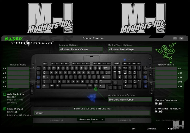 Razer Tarantula Keyboard Gaming Keyboard, Razer 11
