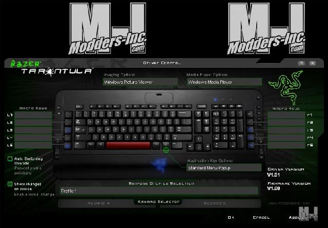 Razer Tarantula Keyboard Gaming Keyboard, Razer 12