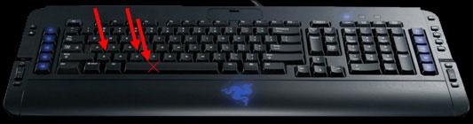 Razer Tarantula Keyboard Gaming Keyboard, Razer 1