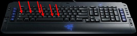 Razer Tarantula Keyboard Gaming Keyboard, Razer 2