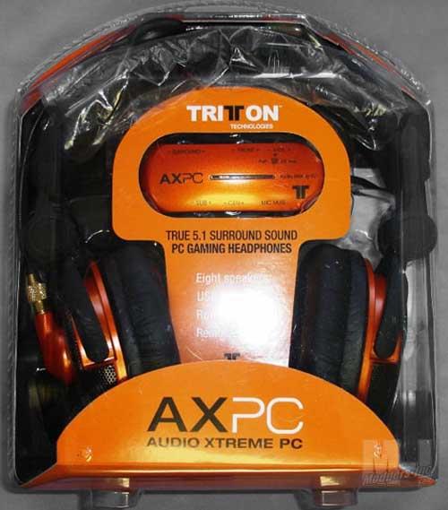 Tritton AXPC USB 5.1 Digital Headset 5.1, AXPC, Headphones, Headset, Tritton, USB 2