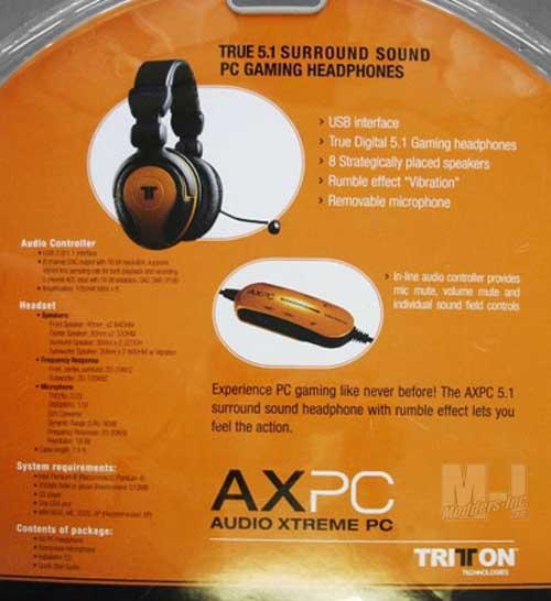 Tritton AXPC USB 5.1 Digital Headset 5.1, AXPC, Headphones, Headset, Tritton, USB 3