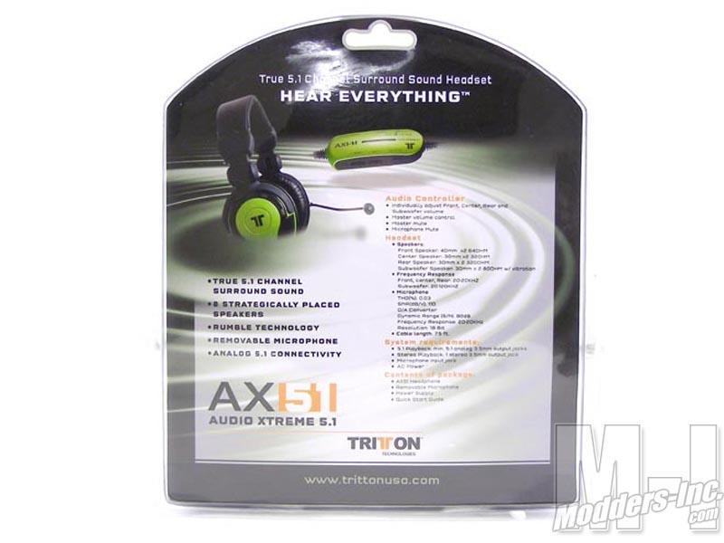 Tritton AX51 Gaming Headset (TRIAI-712) (TRIAI-712), AX51, Gaming, Headset, Tritton 3