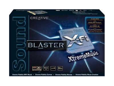 Sound Blaster X-FI XtremeMusic sound card 1