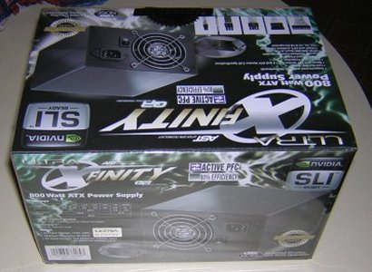 X-Finity 800 Watt PSU w/ Active PFC power supply, psu, Ultra, X-Finity