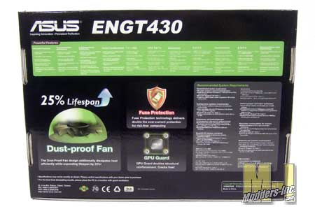 ASUS ENGT430 1GB DDR3 Video Card ASUS, ENGT430, Nvidia, Video Card 2