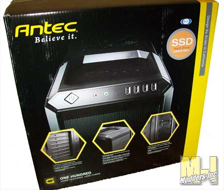 Antec One Hundred Mid Tower PC Gaming Case Antec, Mid Tower, One Hundred 3