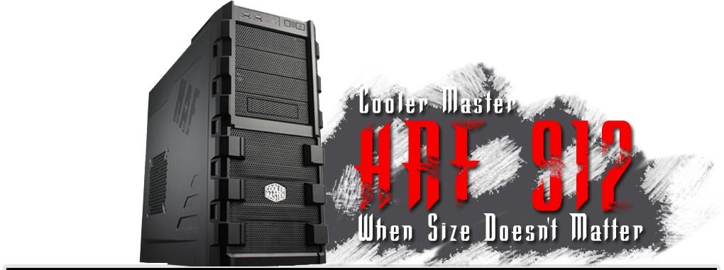 Cooler Master HAF 912 ATX Mid Tower Computer Case ATX, Cooler Master, HAF, Mid Tower 2