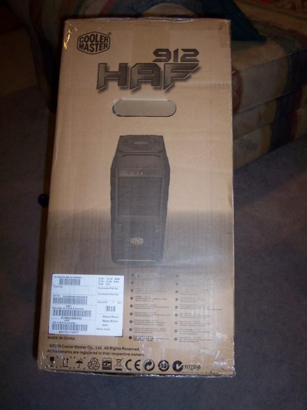 Cooler Master HAF 912 ATX Mid Tower Computer Case