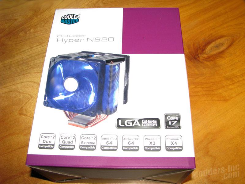 Cooler Master Hyper N620 CPU Cooler Cooler Master, CPU Cooler, Hyper N620, r Hyper N620 2