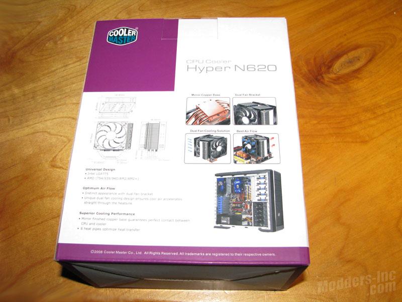 Cooler Master Hyper N620 CPU Cooler Cooler Master, CPU Cooler, Hyper N620, r Hyper N620 3
