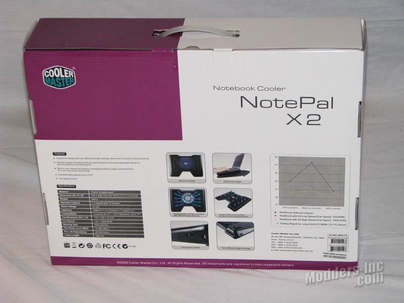 Cooler Master NotePal X2 Notebook Cooler Cooler, Cooler Master, Notebook, NotePal X2 2