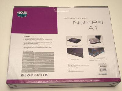 Cooler Master NotePal A1 Laptop Cooler Stand Cooler Master, laptop