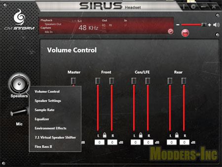 Cooler Master Storm Sirus 5.1 Gaming Headset 5.1, Cooler Master, Gaming, Headset, Storm Sirus 5