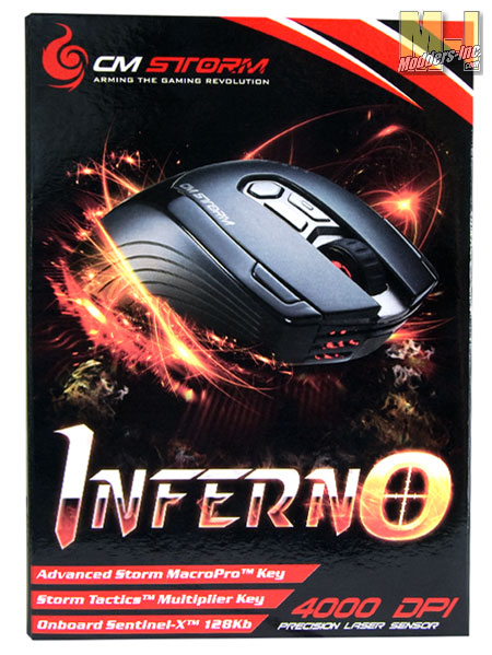 Cooler Master Storm Inferno Gaming Mouse Cooler Master, Gaming Mouse, Storm Inferno 2