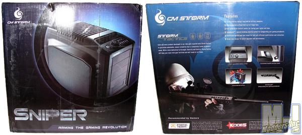 Cooler Master CM Storm Sniper PC Case CM, Cooler Master, Storm 3