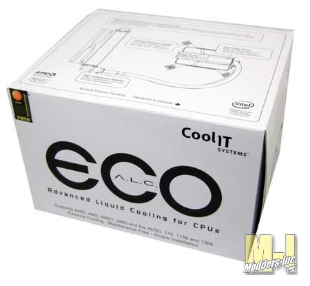 CoolIt ECO A.L.C. Liquid CPU Cooler Coolit ECO 02