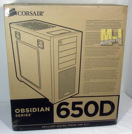 Corsair Obsidian Series 650D Mid-Tower Computer Case 650D, computer case, Corsair, Mid Tower, obsidian 2