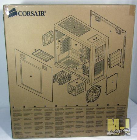 Corsair Obsidian Series 650D Mid-Tower Computer Case 650D, computer case, Corsair, Mid Tower, obsidian 3
