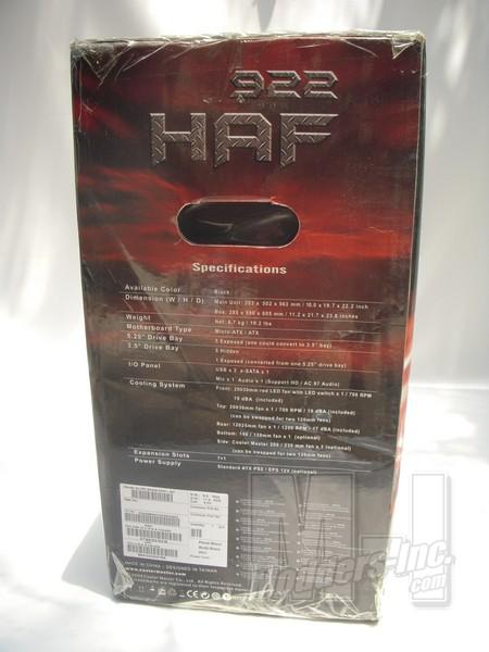 Cooler Master HAF 922 Mid Tower Case Cooler Master, HAF 922 3