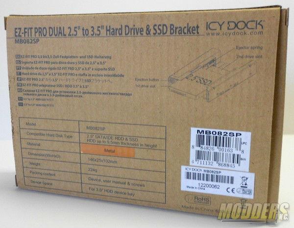 Icy Dock EZ-Fit Pro Dual 2.5 2.5, EZ-Fit Pro Dual, Icy Dock 1
