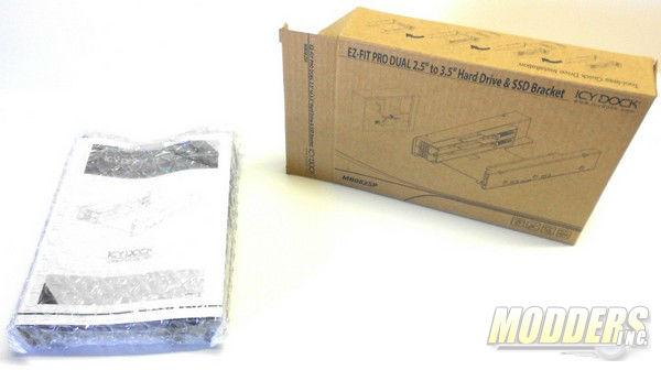 Icy Dock EZ-Fit Pro Dual 2.5 2.5, EZ-Fit Pro Dual, Icy Dock 2