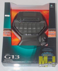 Logitech G13 Advanced Gameboard G13, Keyboard, Logitech 4