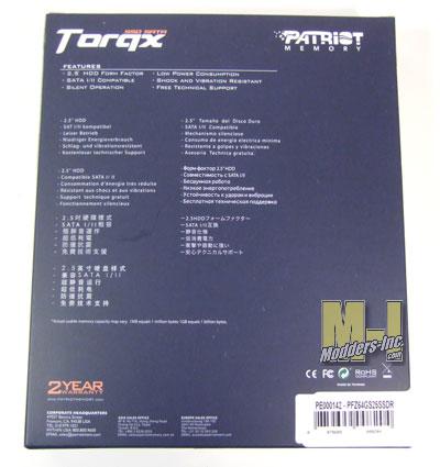 Patriot Torqx SSD (Solid State Disk) 64GB Patriot, SSD, Torqx 3