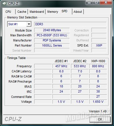Patriot Extreme Performance Viper DDR3 6GB PC3-12800 DIMM Kit DDR3, Extreme Performance Viper, Patriot, PC3-12800 3