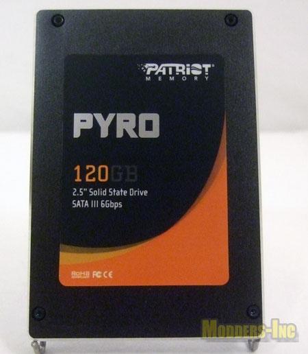 Patriot Pyro SATA III 120GB SSD 1