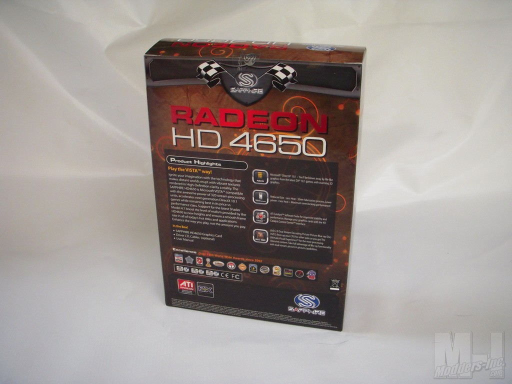 Sapphire HD 4650 AGP Video Card AGP, HD 4650, Sapphire, Video Card 3