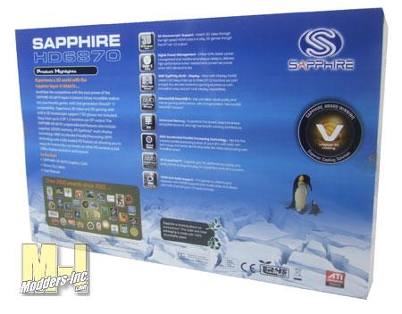 SAPPHIRE Vapor-X HD 6870 1GB GDDR5 Graphic Card Graphic Card, HD 6870, Sapphire, Vapor-X, Video Card