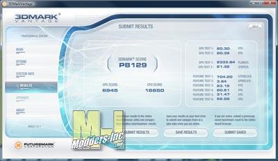HD 5750 3DMARK Vantage Score High
